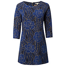 Buy White Stuff Iris Jacquard Tunic, Eccentric Blue Online at johnlewis.com
