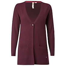 Buy White Stuff Desert Flower Cardigan, Harlem Plum Online at johnlewis.com