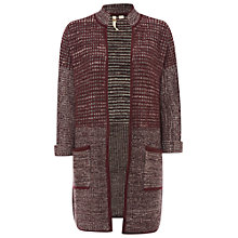 Buy White Stuff Marchella Cardigan, Plum Online at johnlewis.com