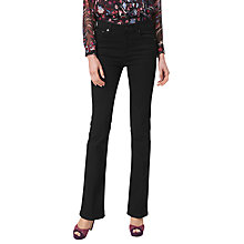 Buy L.K. Bennett Dana Flared Jeans, Black Online at johnlewis.com