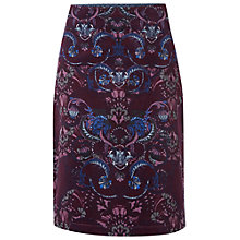 Buy White Stuff Decadent Velvet Skirt, Iris Grey Online at johnlewis.com