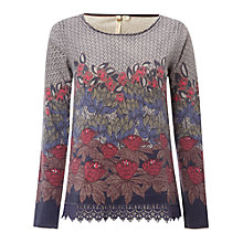 Buy White Stuff Harlem Print Jumper, Multi Online at johnlewis.com