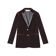 Buy Gerard Darel Valmy Jacket, Dark Red Online at johnlewis.com
