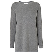 Buy L.K. Bennett Maeve Tuck Stitch Jumper Online at johnlewis.com