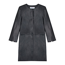 Buy Gerard Darel Cassius Coat, Black Online at johnlewis.com