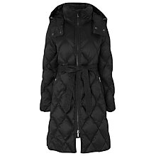 Buy L.K. Bennett Pallini Down Jacket, Black Online at johnlewis.com