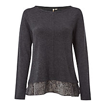 Buy White Stuff Starlet Velvet Devore Top Online at johnlewis.com