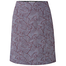 Buy White Stuff Strawberry Fields Skirt, Japanese Blue Online at johnlewis.com