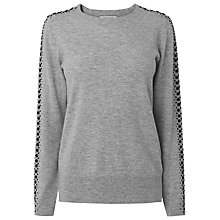 Buy L.K. Bennett Kelly Beaded Detail Jumper Online at johnlewis.com