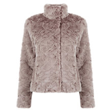 Buy Oasis Dolly Twist Faux Fur Coat Online at johnlewis.com