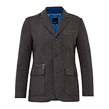 Buy Ted Baker Dom Funnel Neck Jersey Jacket Online at johnlewis.com