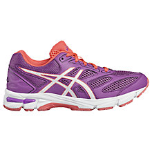 Buy Asics Children's Gel-Pulse 8 GS Laced Trainers, Purple/White Online at johnlewis.com