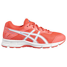 Buy Asics Children's Gel-Galaxy 9 GS Cushioned Laced Trainers, Blue/Multi Online at johnlewis.com