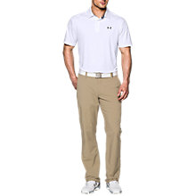 Buy Under Armour Playoff Golf Polo Shirt, White Online at johnlewis.com