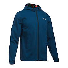 Buy Under Armour Storm Full Zip Men's Training Swacket, Navy Online at johnlewis.com