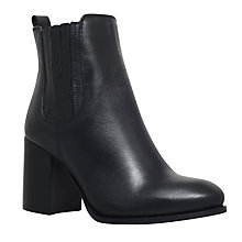 Buy Carvela Perfect Block Heeled Ankle Boots, Black Online at johnlewis.com