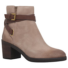 Buy MICHAEL Michael Kors Fawn Bootie Ankle Boots, Taupe Online at johnlewis.com