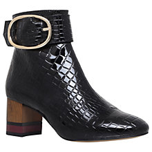 Buy KG by Kurt Geiger Ringo Ankle Boots, Black Online at johnlewis.com