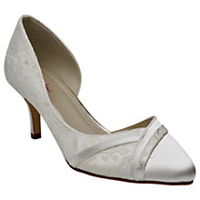 Buy Rainbow Club Wilma Asymmetric Court Shoes, Ivory Online at johnlewis.com