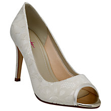 Buy Rainbow Club Noni Peep Toe Stiletto Sandals, Ivory Online at johnlewis.com