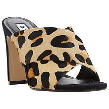 Buy Dune Martey Block Heeled Mule Sandals Online at johnlewis.com