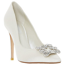 Buy Dune Bridal Collection Breanna Jewel Stiletto Court Shoes Online at johnlewis.com