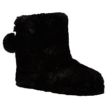 Buy Ted Baker Hamond Boot Slippers, Black Online at johnlewis.com