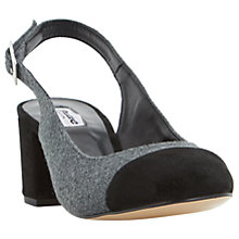 Buy Dune Codey Slingback Block Heeled Court Shoes Online at johnlewis.com