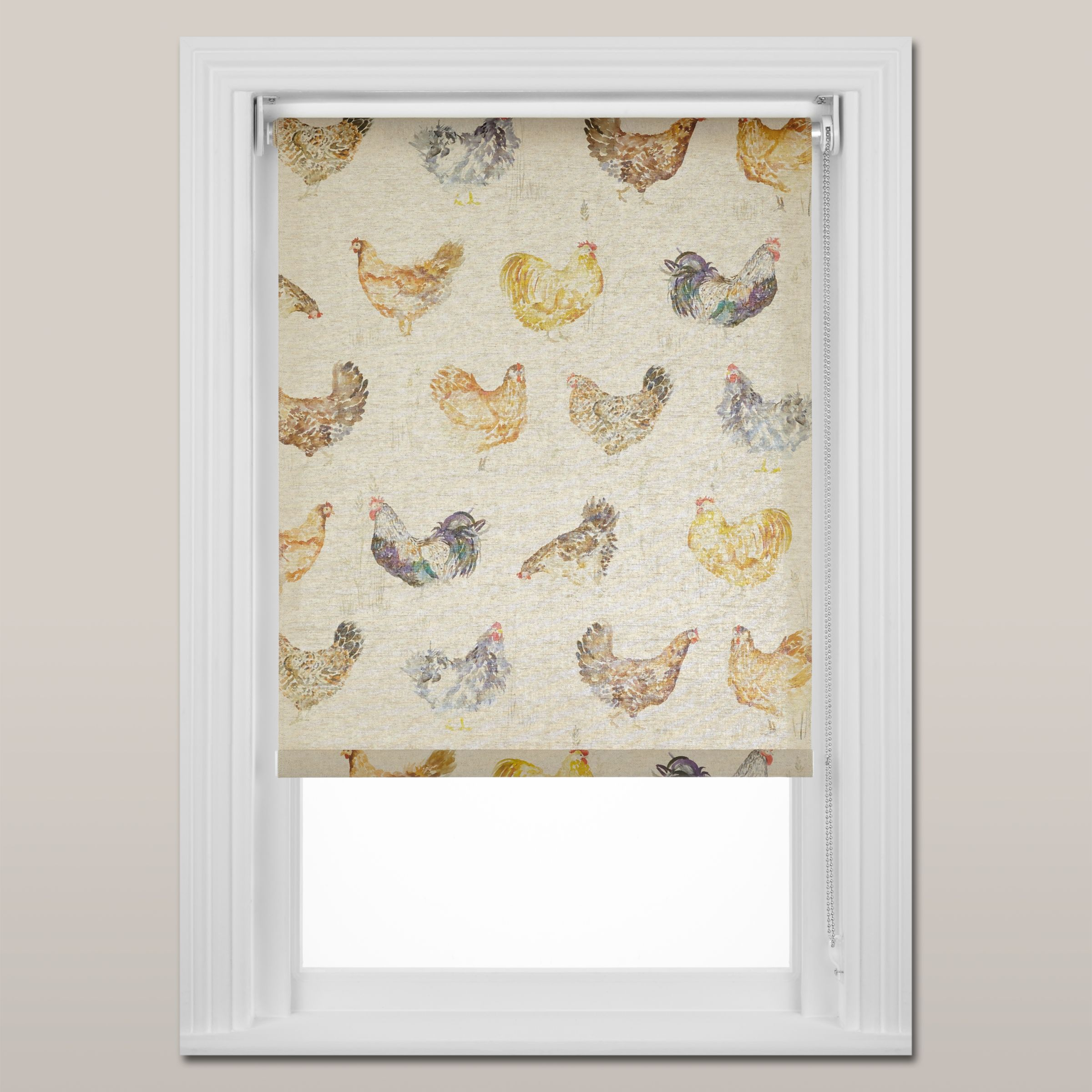 Voyage Voyage Chook Chook Daylight Roller Blind, Chain Mechanism