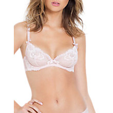 Buy L'Agent by Agent Provocateur Catelin Plunge Bra, Light Pink Online at johnlewis.com