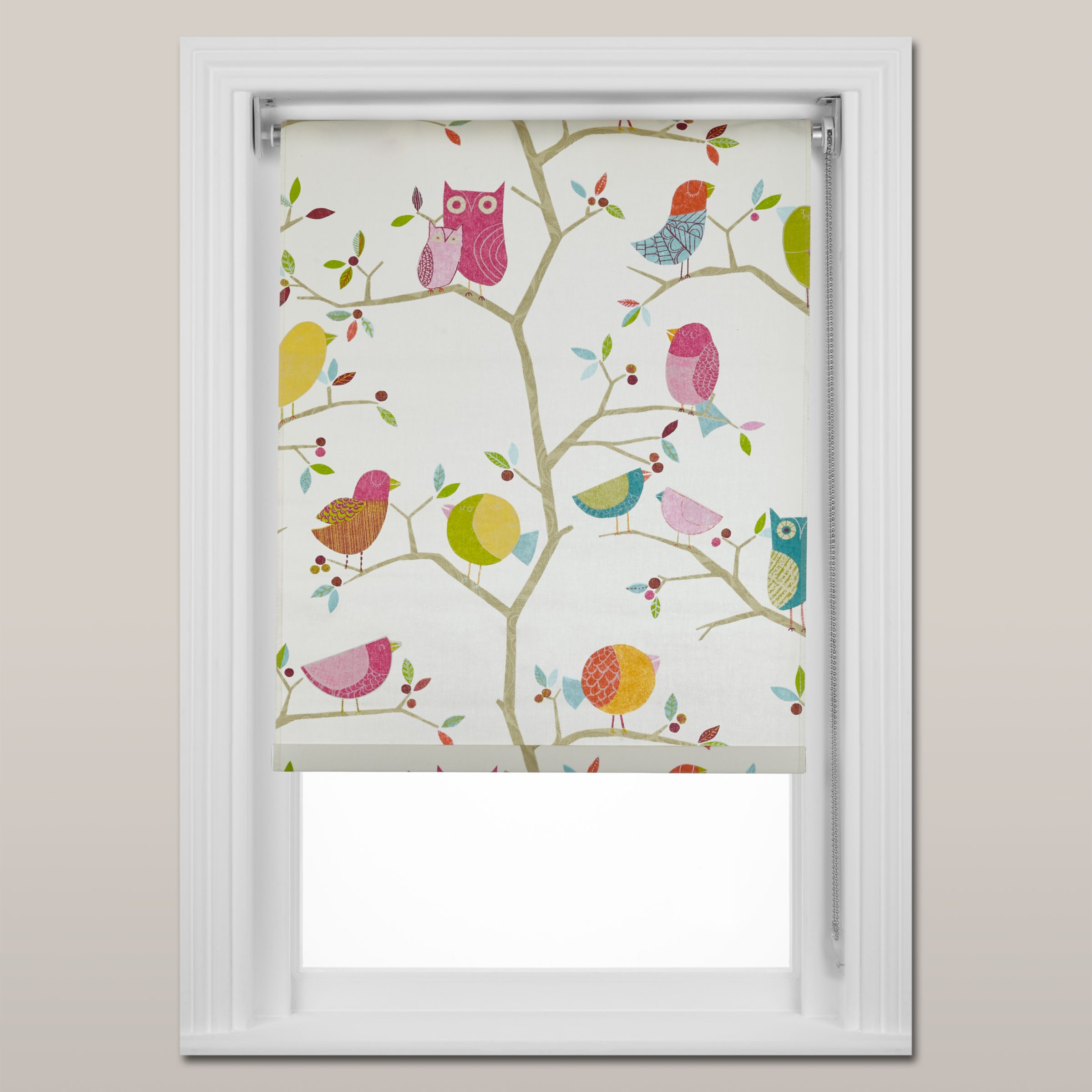 Harlequin Harlequin What a Hoot Roller Blind, Chain Mechanism