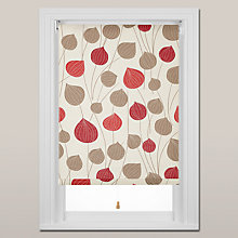 Buy John Lewis Lanterns Roller Blind, Spring Mechanism, Red Online at johnlewis.com