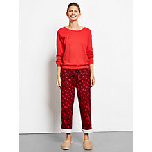 Buy hush Deer Pyjama Bottoms,  Cabernet/Rococco Red Online at johnlewis.com