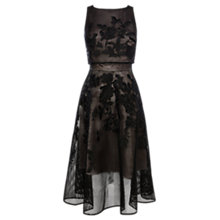 Buy Coast Kellie Embroidered Dress, Black Online at johnlewis.com
