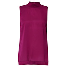 Buy French Connection Crepe Mock Neck Top Online at johnlewis.com