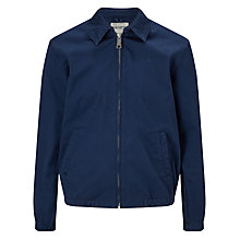 Buy Carhartt WIP Madison Harrington Jacket, Blue Online at johnlewis.com