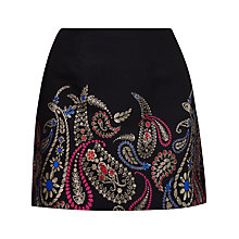 Buy Ted Baker Aziah Treasured Trinkets Mini Skirt, Black Online at johnlewis.com