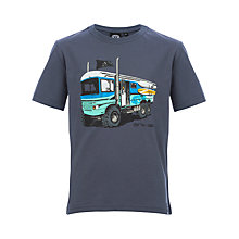 Buy Animal Boys' Surfari T-Shirt, Blue Online at johnlewis.com