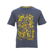 Buy Animal Boys' Skate Short Sleeve T-Shirt, Blue Online at johnlewis.com