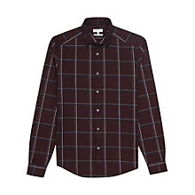 Buy Reiss Pastrana Window Check Slim Fit Shirt Online at johnlewis.com