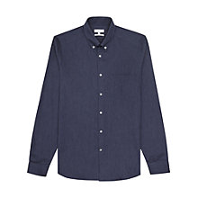 Buy Reiss Carmichael Slim Fit Cotton Shirt Online at johnlewis.com