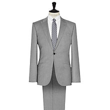 Buy Reiss Samuel Peak Lapel Modern Fit Suit, Grey Online at johnlewis.com