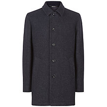 Buy Jaeger Double-Faced Car Coat, Navy Online at johnlewis.com