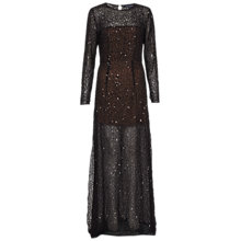 Buy French Connection Hettie Jewel Maxi Dress, Black Online at johnlewis.com