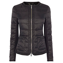 Buy Karen Millen Lightweight Padded Jacket, Black Online at johnlewis.com