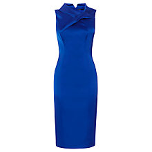 Buy Karen Millen Exaggerated Knot Dress, Blue Online at johnlewis.com