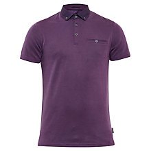 Buy Ted Baker Rykard Woven Collar Polo Shirt Online at johnlewis.com
