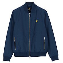 Buy Lyle & Scott Bomber Jacket, Navy Online at johnlewis.com