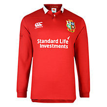 Buy Canterbury of New Zealand British and Irish Lions Classic Long Sleeved Men's Rugby Shirt, Red Online at johnlewis.com