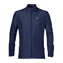 Buy Asics Running Jacket, Blue Online at johnlewis.com